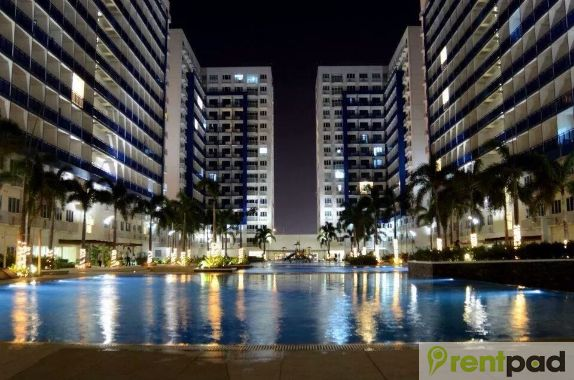 1bedroom and 2bedroom for rent in sea residences mall of asia pas