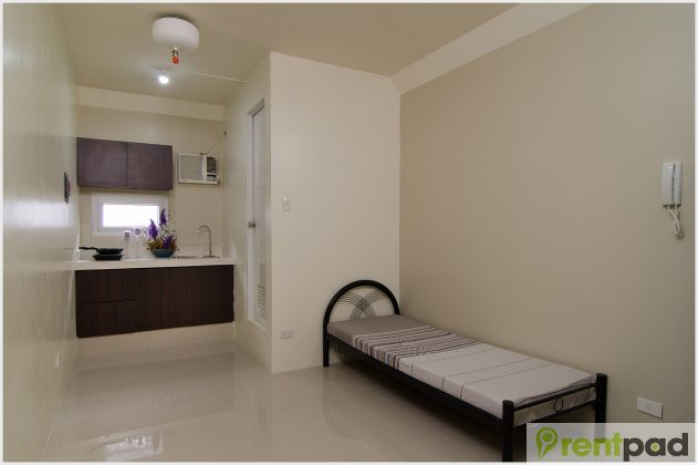 Unfurnished studio type apartment at purple clover place