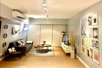 1BR Fully Furnished with Balcony at BGC