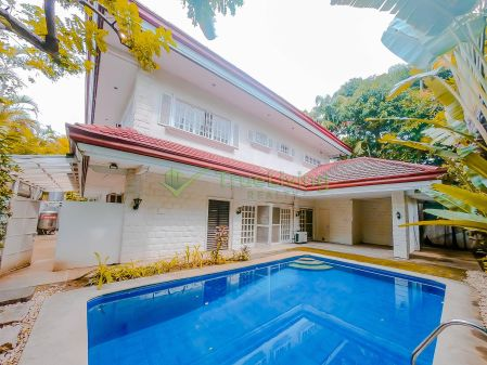 Semi Furnished 4BR House at Dasmarinas Village for Rent