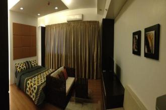 Fully Furnished Studio Unit in St Francis Shangri La Place