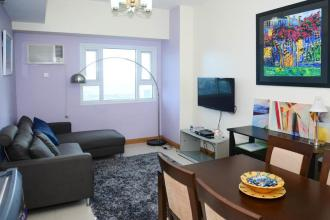 Fully Furnished 1BR Condo for Rent at The Trion Towers