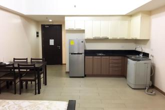 Fully Furnished Studio Unit at Venice Residences for Rent