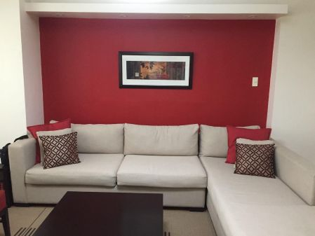 Furnished 2 Bedroom Unit in St Francis Shangri La Place Pasig