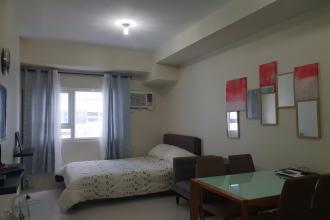 Fully Furnished Studio Unit for Rent at The Pearl Place Pasig