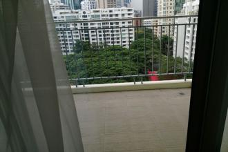 Furnished 3 Bedroom with Balcony overlooking Salcedo Park  ideal
