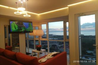 1BR Sunset Sea View Manila Bay Deluxe End Unit w Balcony in Breez