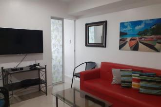 Fully Furnished 2BR and Balcony at Azure Urban Resort Residences