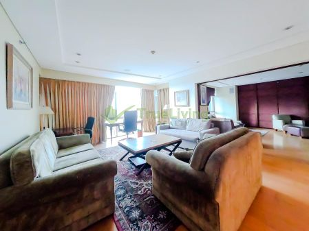 Fully Furnished 3 Bedroom Condo For Rent in Pacific Plaza Towers