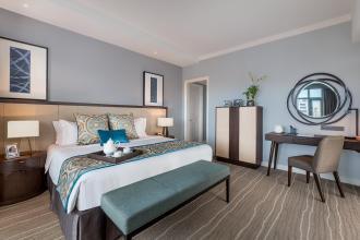 Premier One Bedroom Suite in Ascott Makati near Ayala Center