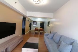 1BR Furnished with Balcony and Parking at Two Maridien BGC