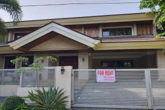 4BR House with Den for Rent in Ayala Alabang Muntinlupa