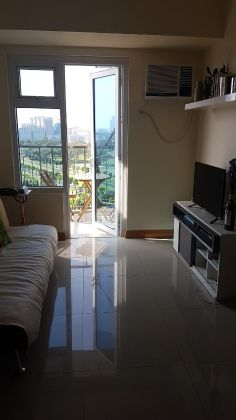 Fully Furnished 1 Bedroom Unit at Trion Towers for Rent