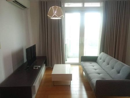 Fully Furnished 1BR with Balcony and Parking in Park Terraces