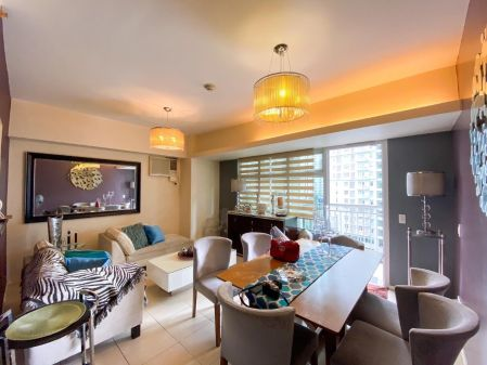 Fully Furnished 1 Bedroom Unit at Two Serendra for Rent