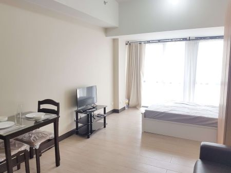 Fully Furnished Studio Unit at Paseo Heights for Rent