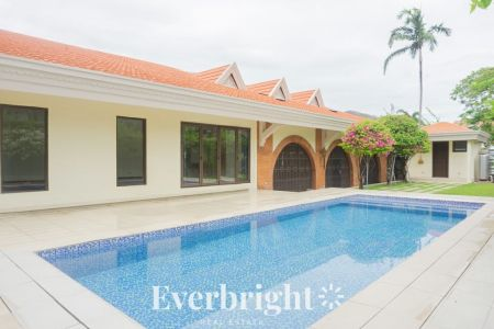 3BR + den Semi Furnished House and Lot with Swimming Pool in Alab
