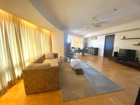 Fully Furnished 3BR Unit with Parking at One Mckinley Place