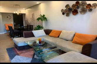 2BR Furnished with Balcony and Parking at One Maridien BGC