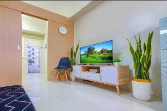 Fully furnished 1BR Unit in Field Residences with Fast Internet R