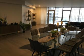 Fully Furnished 3 Bedroom Unit at Proscenium at Rockwell