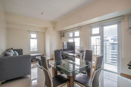 Fully Furnished 2BR for Rent in Trion Towers Taguig