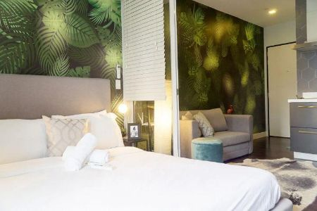 Rainforest Studio Suite in Acqua Private Residences near Makati