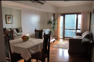 Fully Furnishe 1BR with Parking in Joya Lofts and Towers Makati