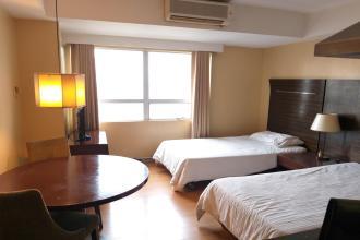 Studio for Rent in Lancaster Hotel Condominium in Mandaluyong