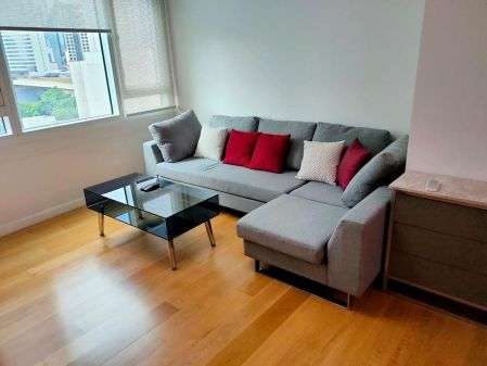 Fully Furnished 1BR with Parking in Park Terraces Makati