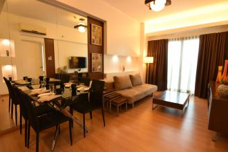 Fully Furnished 1 Bedroom Unit in St Francis Shangrila Place