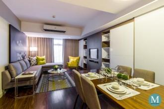 Beautifully Furnished Deluxe 2BR in Citadines Millennium Ortigas