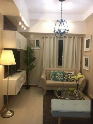 For Rent Fully Furnished 1BR unit in The Trion Towers