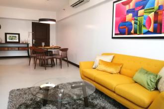 1BR  with Balcony Nice City View  in Two Serendra Taguig