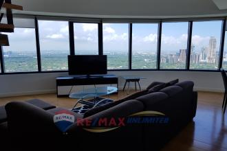 Fully Furnished 3BR Corner Loft in One Rockwell Makati