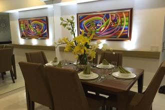 Fully Furnished 1BR Unit in The Senta Makati for Rent