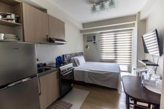 Studio Condo for Rent at Grove by Rockwell in Ortigas