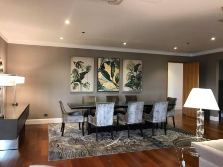 Fully Furnished 3 Bedroom Unit at Essensa East Forbes for Rent