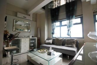 Fully Furnished 1BR Loft for Rent in Eton Parkview Loft Makati
