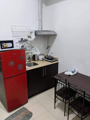 1BR Semi Furnished Unit at  Ridgewood Towers Taguig for Rent