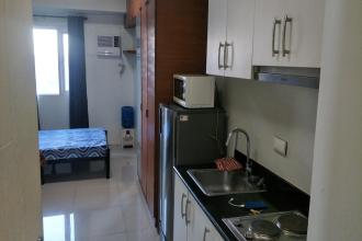 Studio Condo at Jazz Residences in Makati Fully Furnished