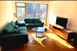 1BR Fully Furnished with Balcony and Parking at Verve Residences
