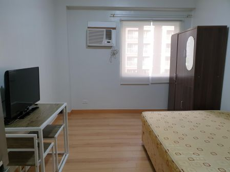 Fully Furnished Studio Unit at Trees Residences for Rent