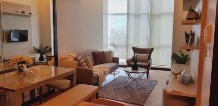 Fully Furnished 2 Bedroom Unit at Sapphire Residences for Rent
