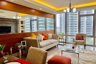 Fully Furnished 3BR Unit with Parking at Proscenium Rockwell