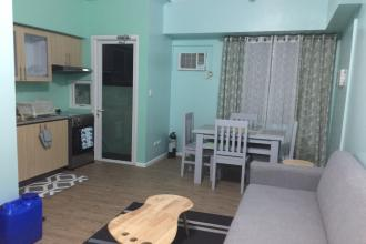 Fully Furnished with  1 Bedroom and balcony, kitchen , For long