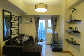 1BR Fully Furnished Unit at Trion Towers for Rent