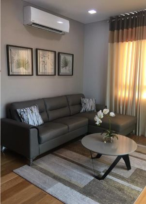 Fully Furnished 2BR with 1 Parking in Park Terraces Makati
