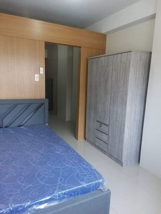 Fully Furnished 1BR with Balcony in Shell Residences for Rent