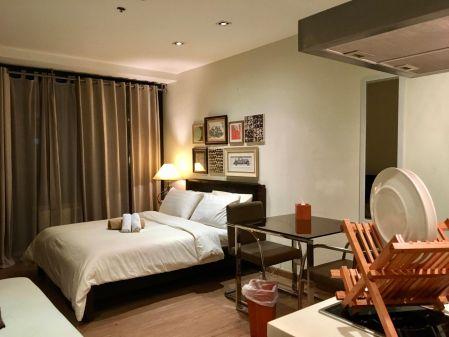 Makati Gramercy Residences Interior Designed Studio for Lease
